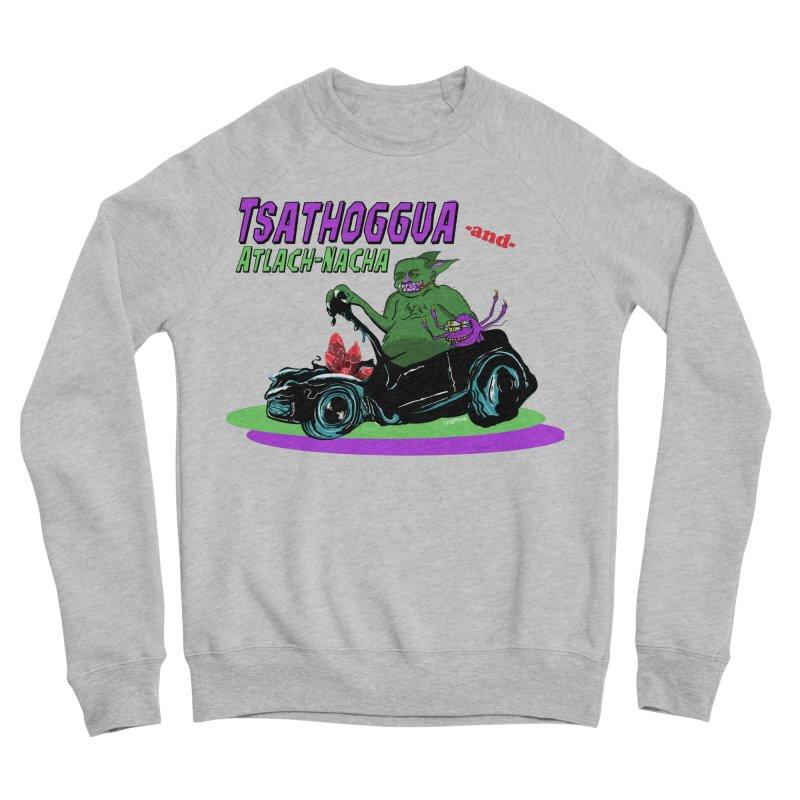 Tsathoggua & Atlach-Nacha Women's Sponge Fleece Sweatshirt by pgttcm's Artist Shop