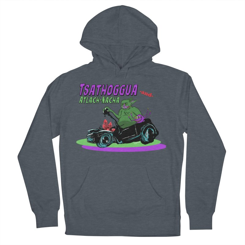 Tsathoggua & Atlach-Nacha Women's French Terry Pullover Hoody by pgttcm's Artist Shop