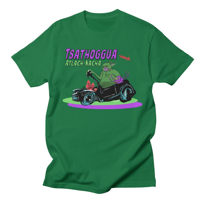 Tsathoggua & Atlach-Nacha Women's Regular Unisex T-Shirt by pgttcm's Artist Shop