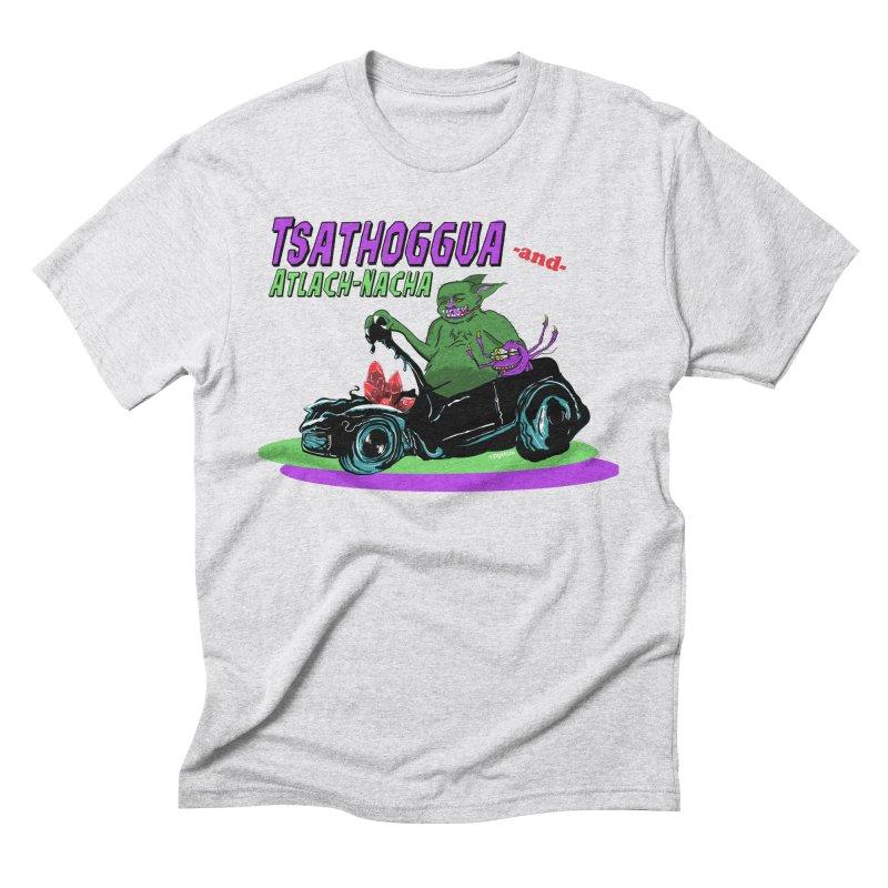 Tsathoggua & Atlach-Nacha Men's Triblend T-Shirt by pgttcm's Artist Shop