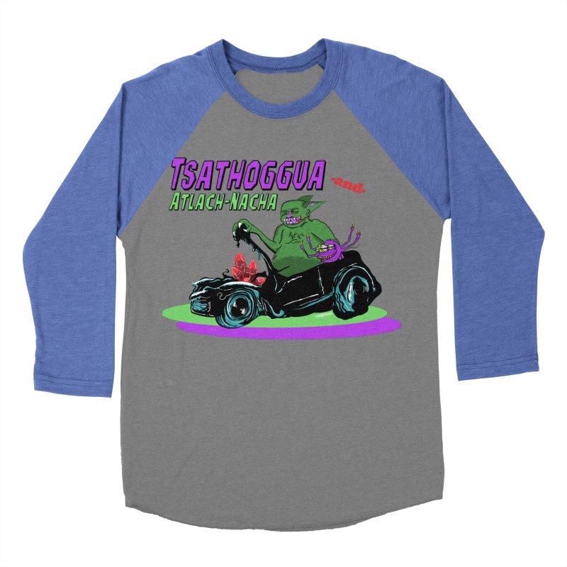 Tsathoggua & Atlach-Nacha Women's Baseball Triblend Longsleeve T-Shirt by pgttcm's Artist Shop