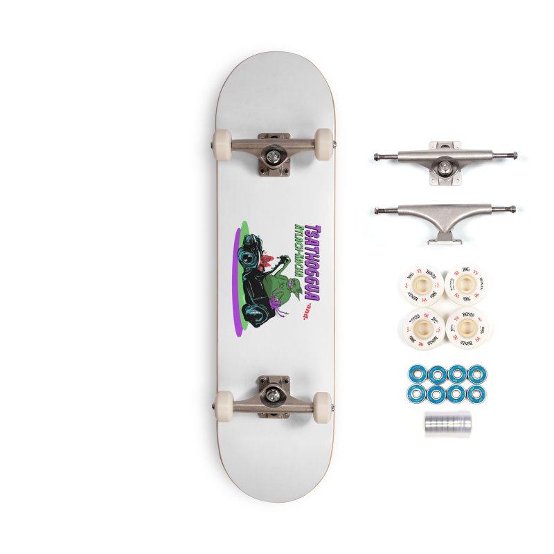 Tsathoggua & Atlach-Nacha Accessories Complete - Premium Skateboard by pgttcm's Artist Shop