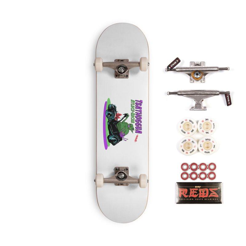 Tsathoggua & Atlach-Nacha Accessories Complete - Pro Skateboard by pgttcm's Artist Shop