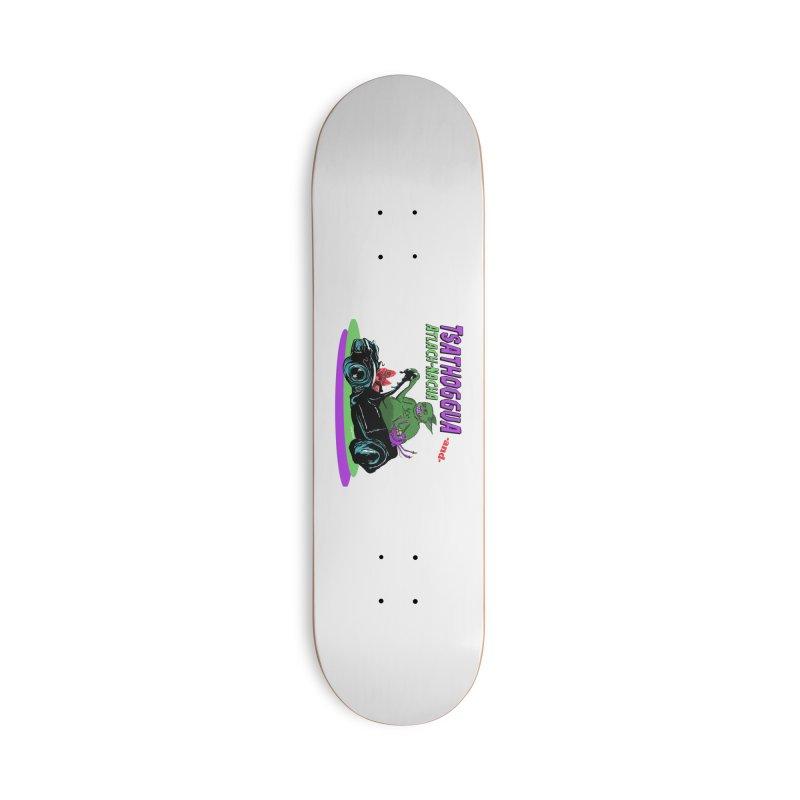 Tsathoggua & Atlach-Nacha Accessories Skateboard by pgttcm's Artist Shop