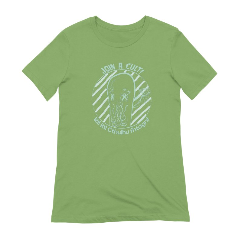 Join A Cult 2019 Green Women's Extra Soft T-Shirt by pgttcm's Artist Shop