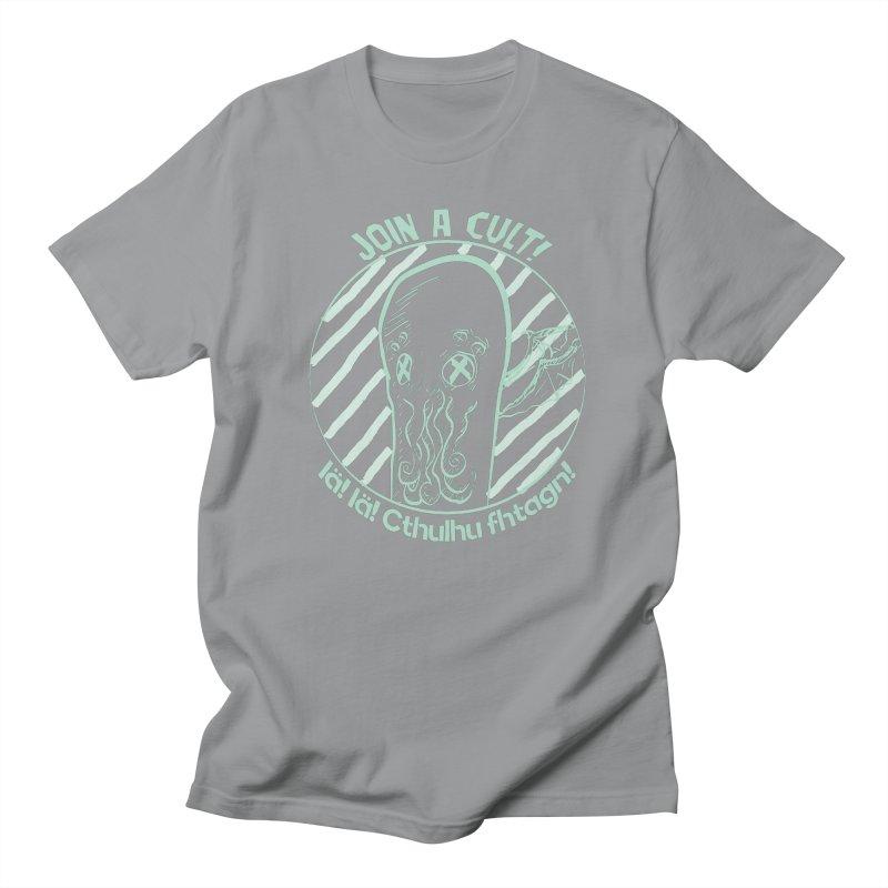 Join A Cult 2019 Green Men's T-Shirt by pgttcm's Artist Shop