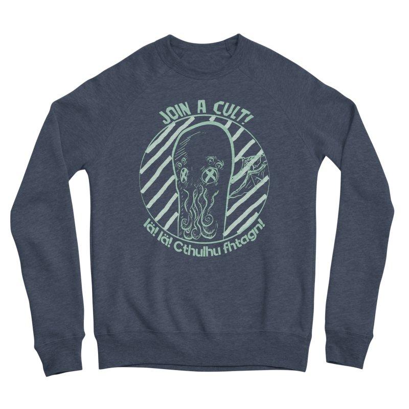 Join A Cult 2019 Green Men's Sponge Fleece Sweatshirt by pgttcm's Artist Shop