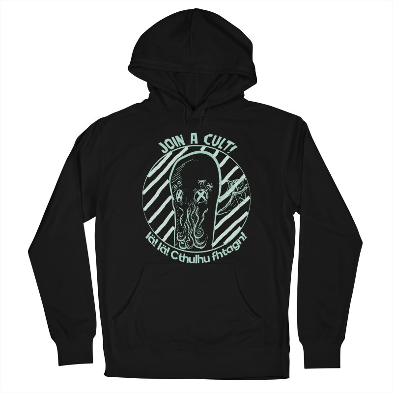 Join A Cult 2019 Green Women's French Terry Pullover Hoody by pgttcm's Artist Shop