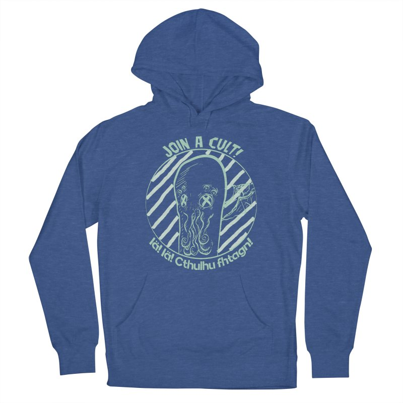 Join A Cult 2019 Green Men's French Terry Pullover Hoody by pgttcm's Artist Shop