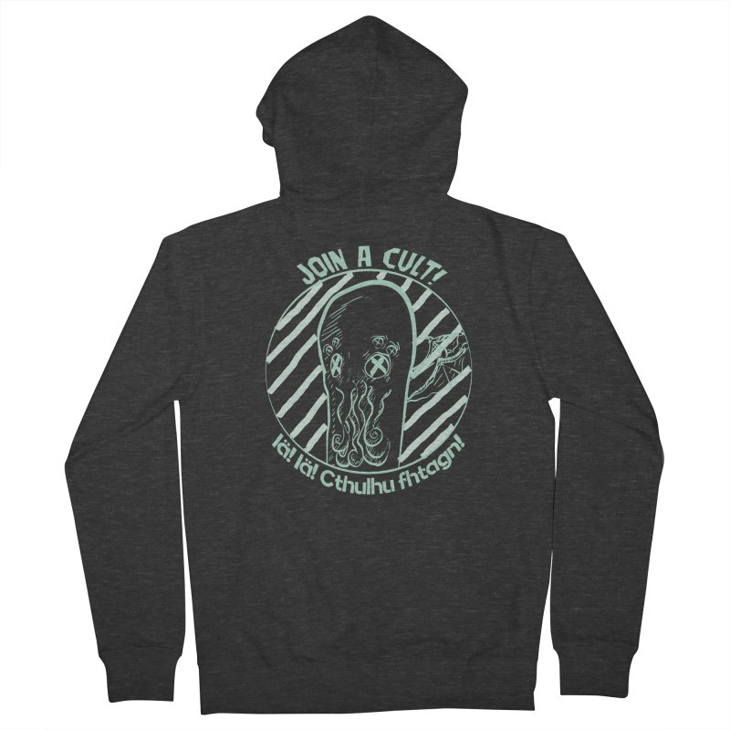 Join A Cult 2019 Green Women's French Terry Zip-Up Hoody by pgttcm's Artist Shop
