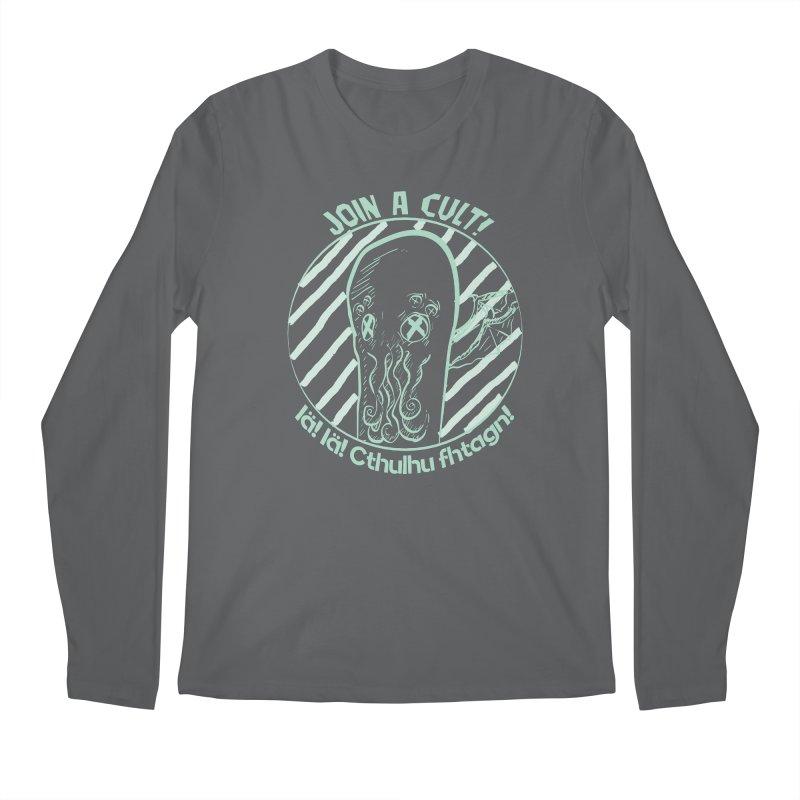 Join A Cult 2019 Green Men's Longsleeve T-Shirt by pgttcm's Artist Shop