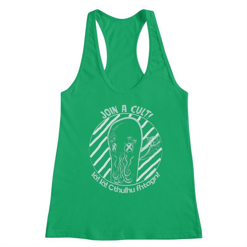 Join A Cult 2019 Green Women's Tank by pgttcm's Artist Shop
