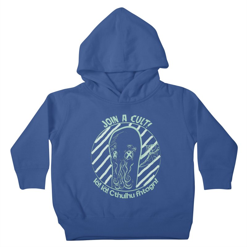 Join A Cult 2019 Green Kids Toddler Pullover Hoody by pgttcm's Artist Shop