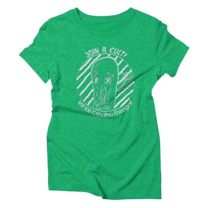 Join A Cult 2019 Green Women's Triblend T-Shirt by pgttcm's Artist Shop