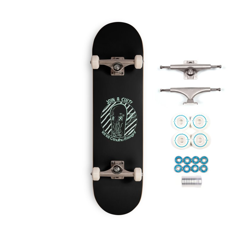 Join A Cult 2019 Green Accessories Complete - Basic Skateboard by pgttcm's Artist Shop