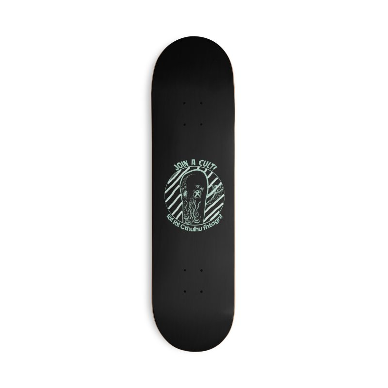 Join A Cult 2019 Green Accessories Deck Only Skateboard by pgttcm's Artist Shop