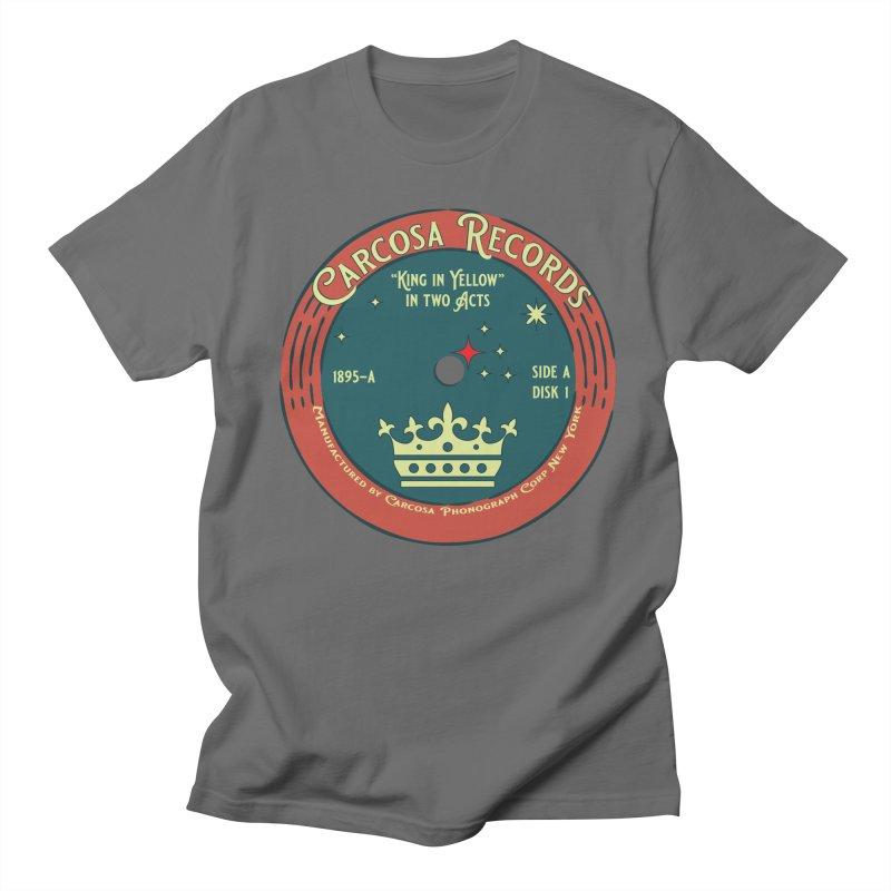 Carcosa Records Men's T-Shirt by pgttcm's Artist Shop