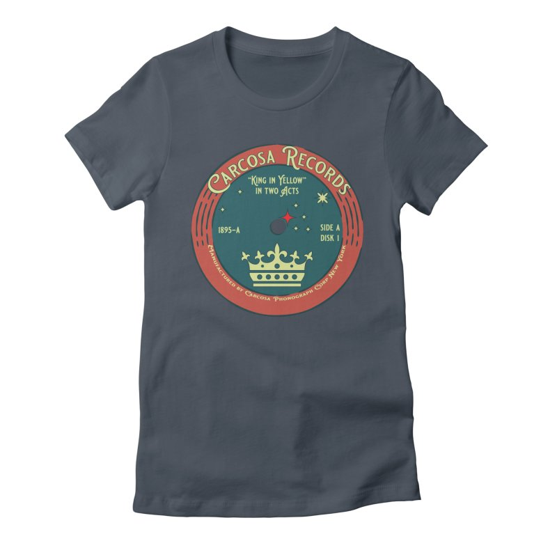 Carcosa Records Women's T-Shirt by pgttcm's Artist Shop