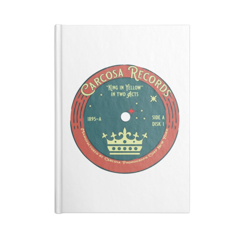 Carcosa Records Accessories Notebook by pgttcm's Artist Shop