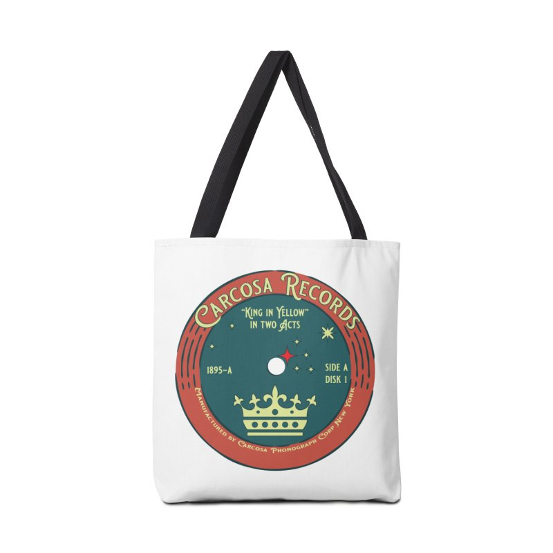 Carcosa Records Accessories Bag by pgttcm's Artist Shop