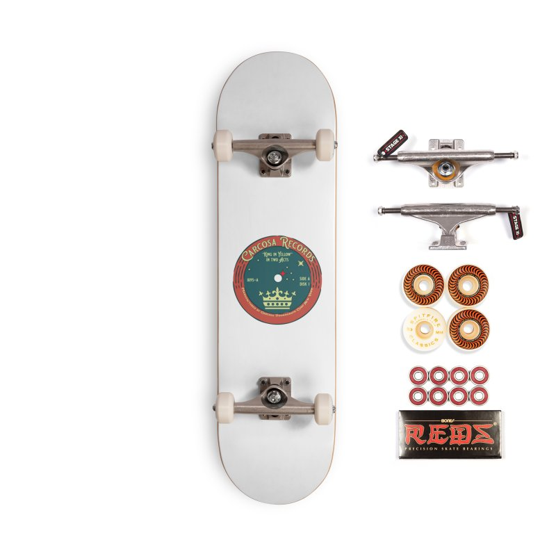 Carcosa Records Accessories Skateboard by pgttcm's Artist Shop