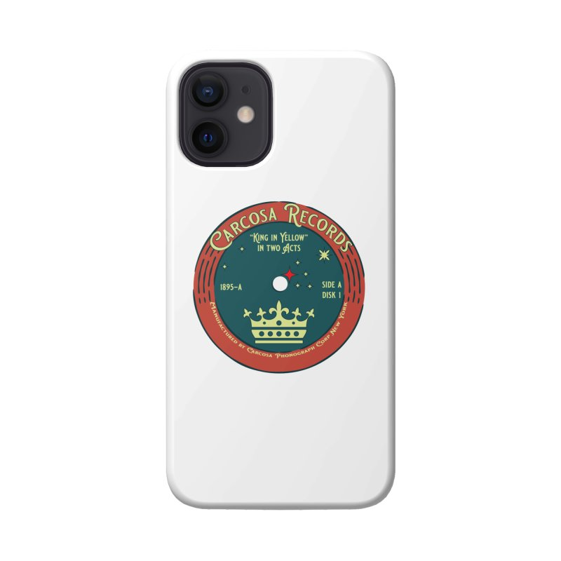 Carcosa Records Accessories Phone Case by pgttcm's Artist Shop