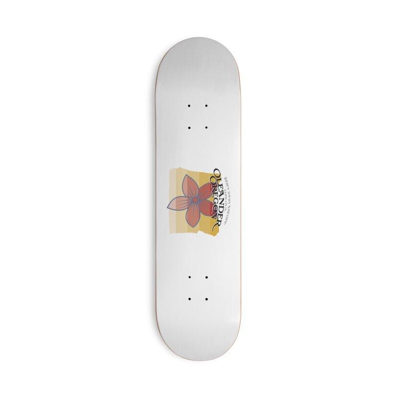 Oleander Oregon Accessories Skateboard by pgttcm's Artist Shop