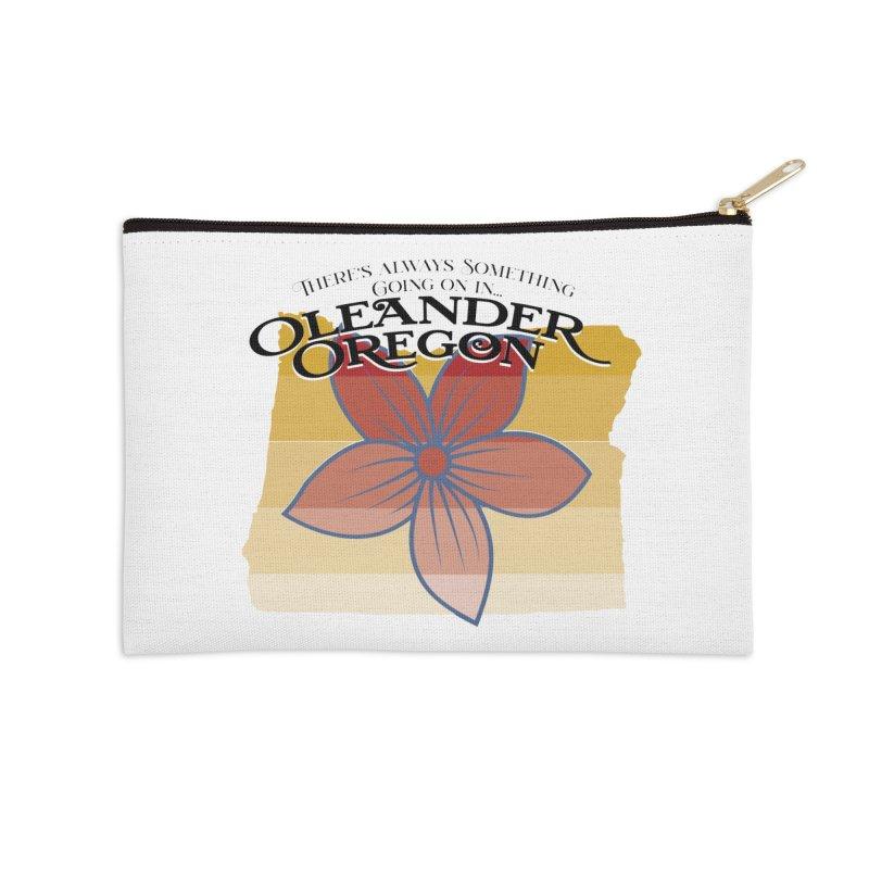 Oleander Oregon Accessories Zip Pouch by pgttcm's Artist Shop