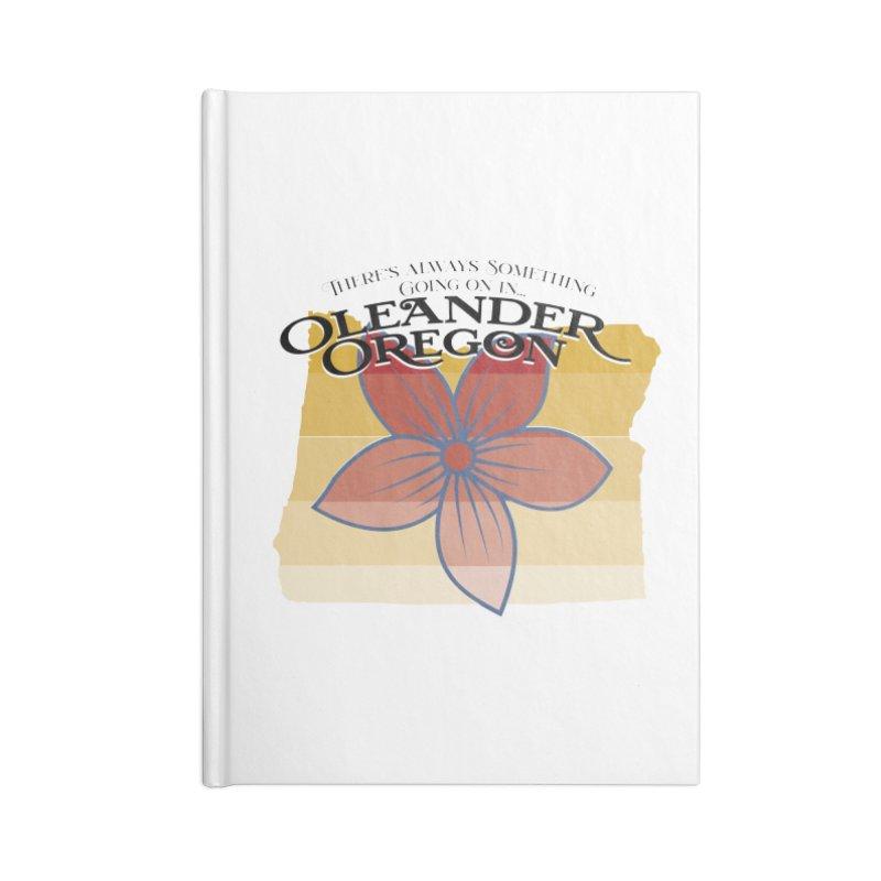 Oleander Oregon Accessories Notebook by pgttcm's Artist Shop