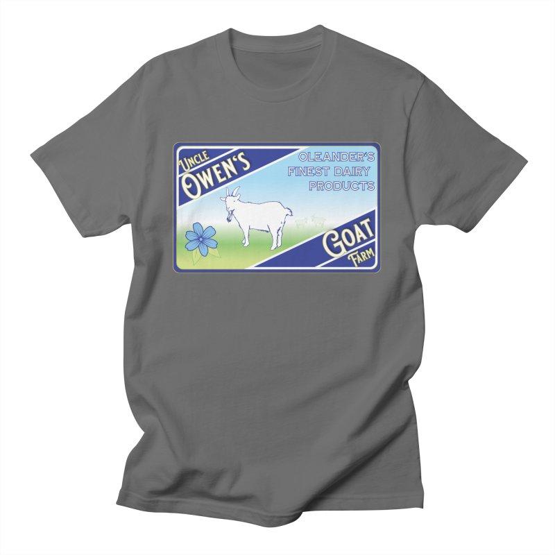 Uncle Owen's Goat Farm Men's T-Shirt by pgttcm's Artist Shop