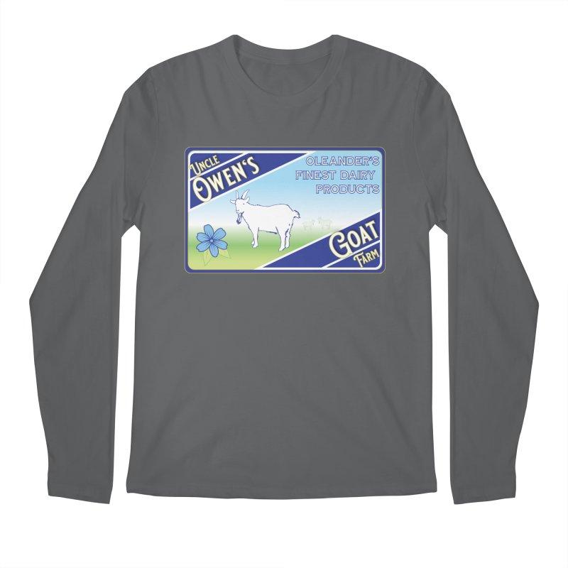 Uncle Owen's Goat Farm Men's Longsleeve T-Shirt by pgttcm's Artist Shop