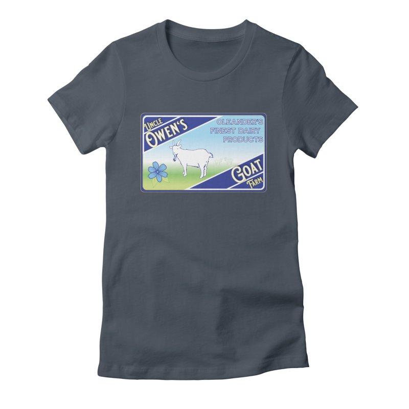 Uncle Owen's Goat Farm Women's T-Shirt by pgttcm's Artist Shop