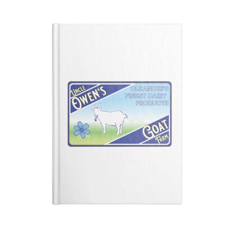 Uncle Owen's Goat Farm Accessories Notebook by pgttcm's Artist Shop
