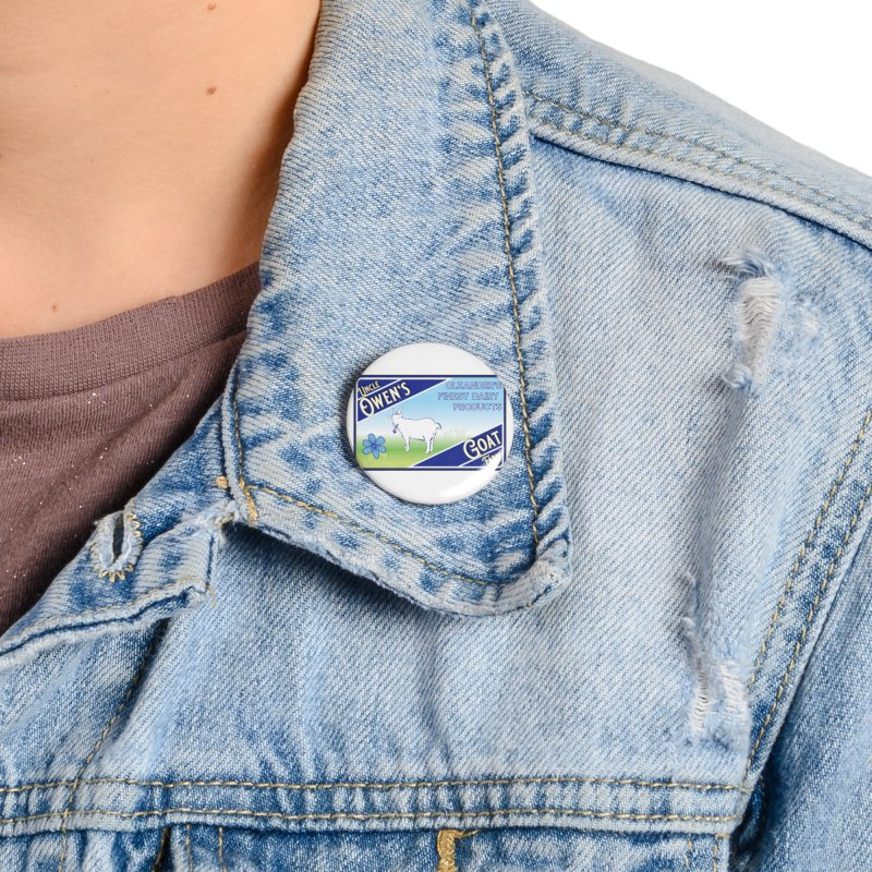 Uncle Owen's Goat Farm Accessories Button by pgttcm's Artist Shop