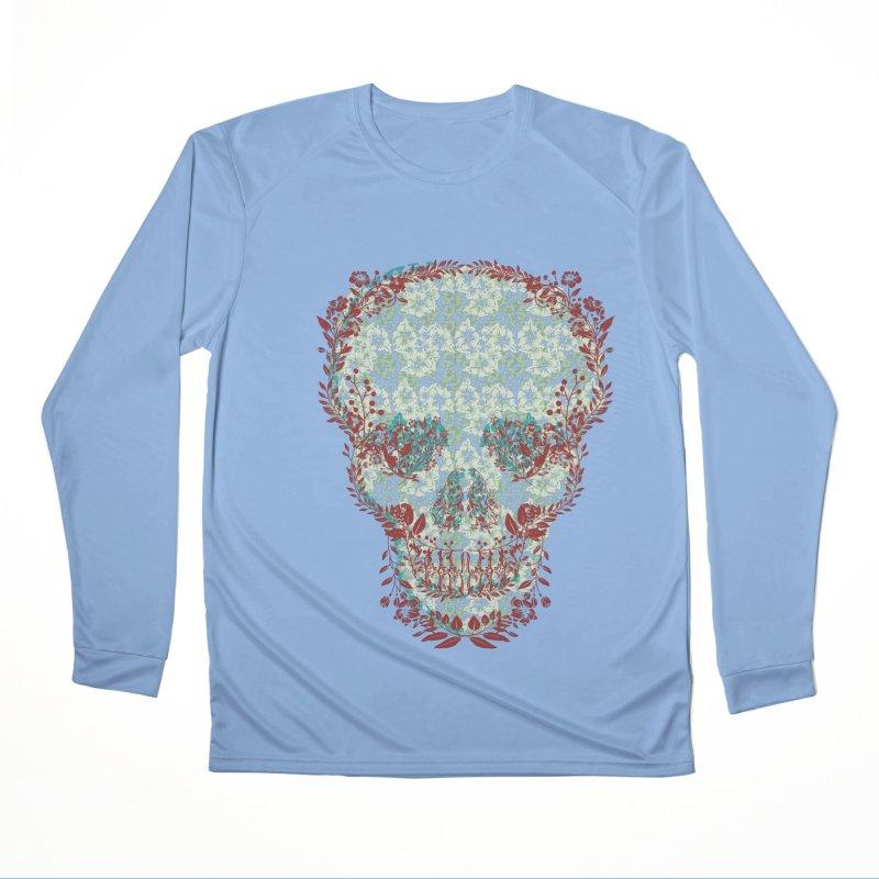 Floral Skull 2020 Men's Longsleeve T-Shirt by pgttcm's Artist Shop