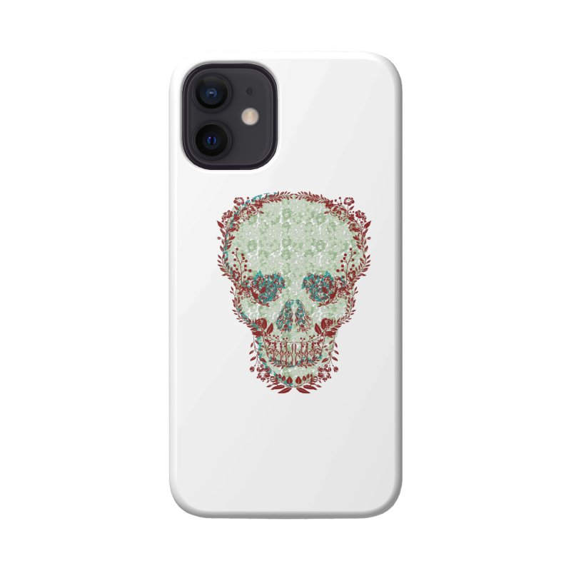 Floral Skull 2020 Accessories Phone Case by pgttcm's Artist Shop