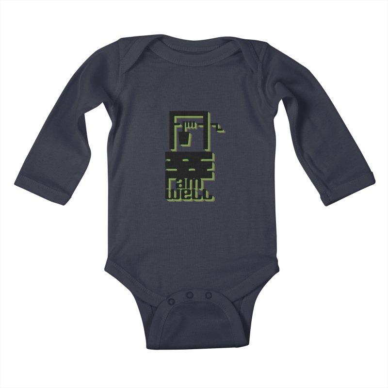 I am Well Kids Baby Longsleeve Bodysuit by pgttcm's Artist Shop