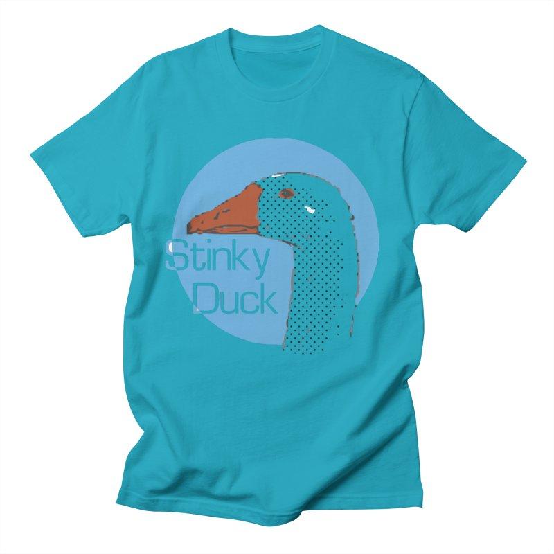 Stinky Duck Men's T-Shirt by pgttcm's Artist Shop