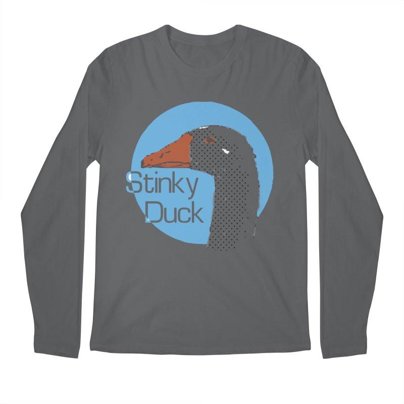 Stinky Duck Men's Longsleeve T-Shirt by pgttcm's Artist Shop