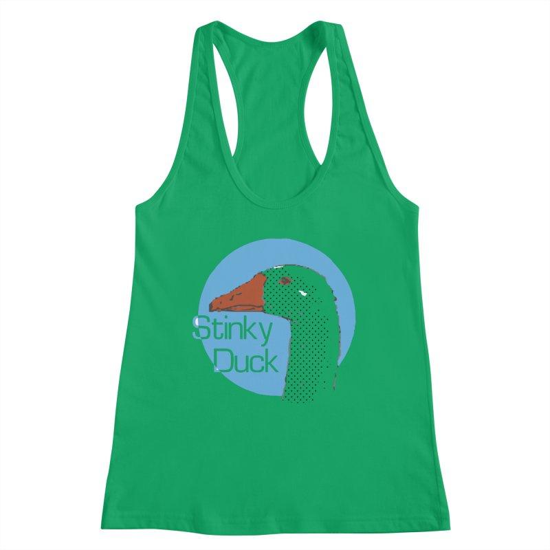 Stinky Duck Women's Tank by pgttcm's Artist Shop