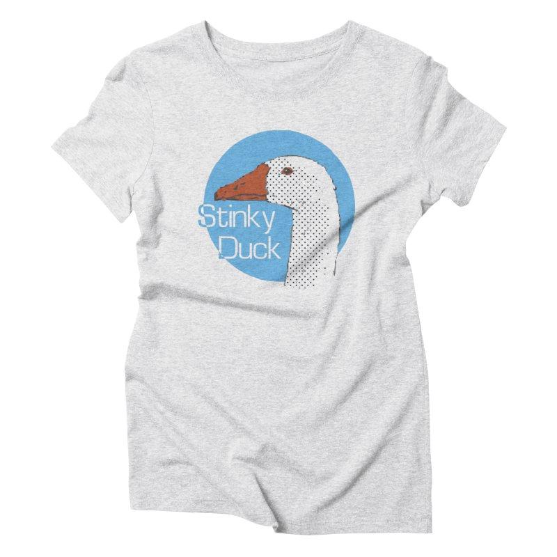 Stinky Duck Women's T-Shirt by pgttcm's Artist Shop