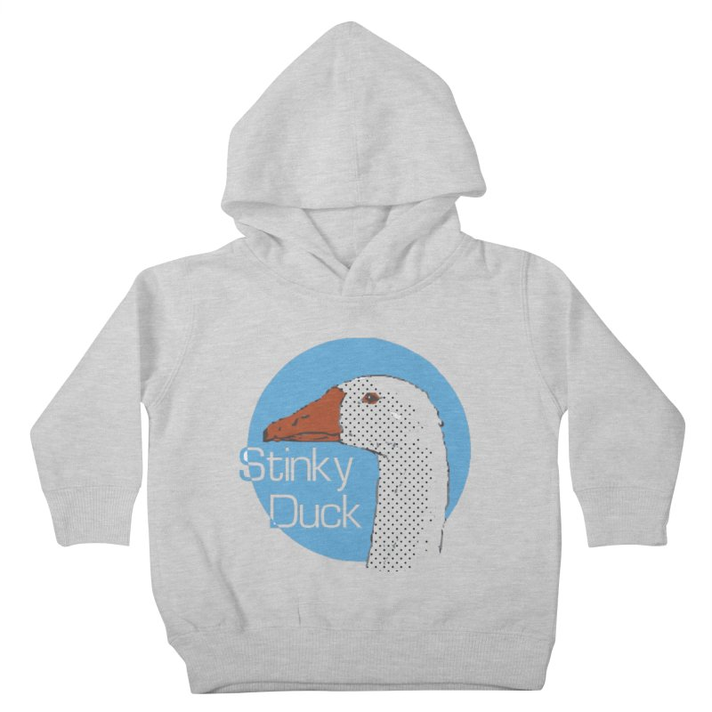 Stinky Duck Kids Toddler Pullover Hoody by pgttcm's Artist Shop
