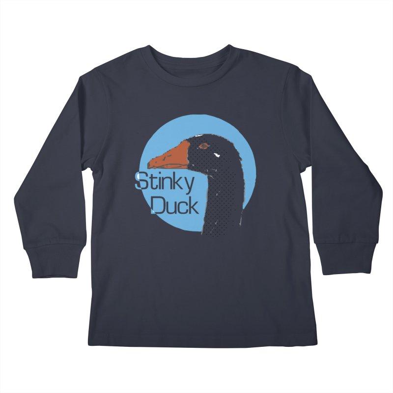 Stinky Duck Kids Longsleeve T-Shirt by pgttcm's Artist Shop