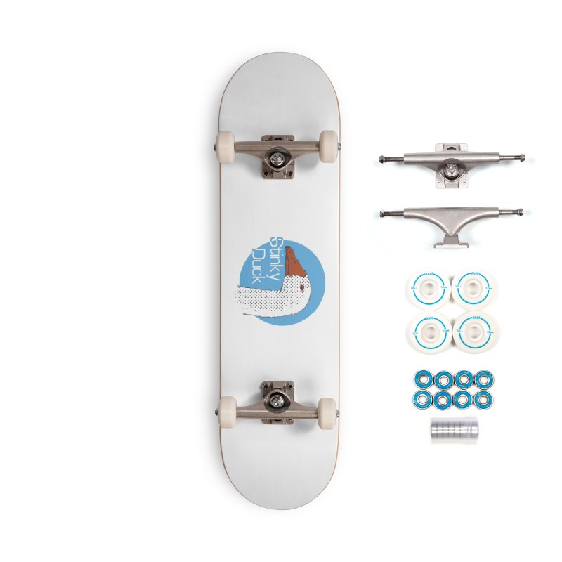 Stinky Duck Accessories Skateboard by pgttcm's Artist Shop
