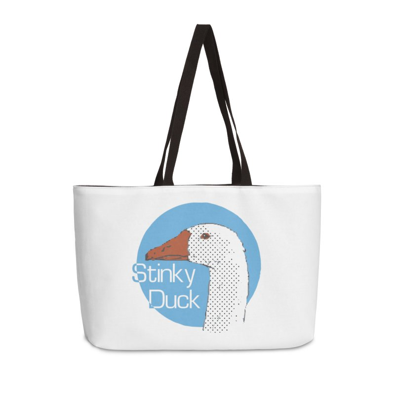 Stinky Duck Accessories Bag by pgttcm's Artist Shop
