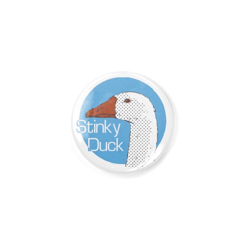 Stinky Duck Accessories Button by pgttcm's Artist Shop
