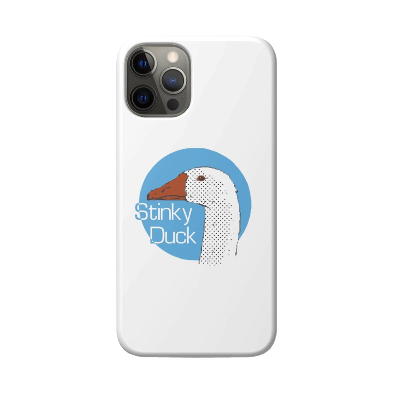 Stinky Duck Accessories Phone Case by pgttcm's Artist Shop