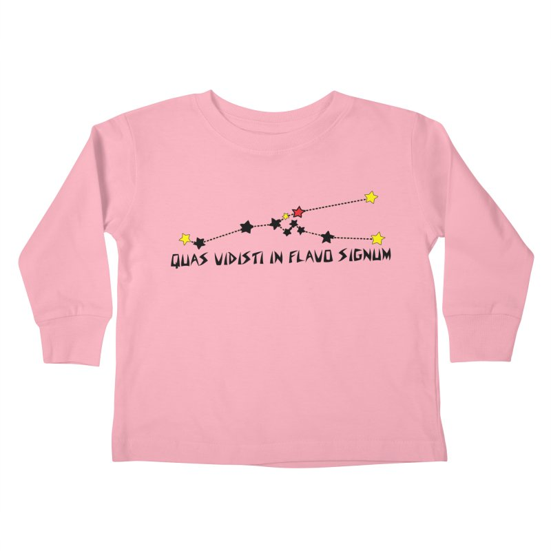 King in Yellow/Aldebaran/Taurus Shirt Kids Toddler Longsleeve T-Shirt by pgttcm's Artist Shop