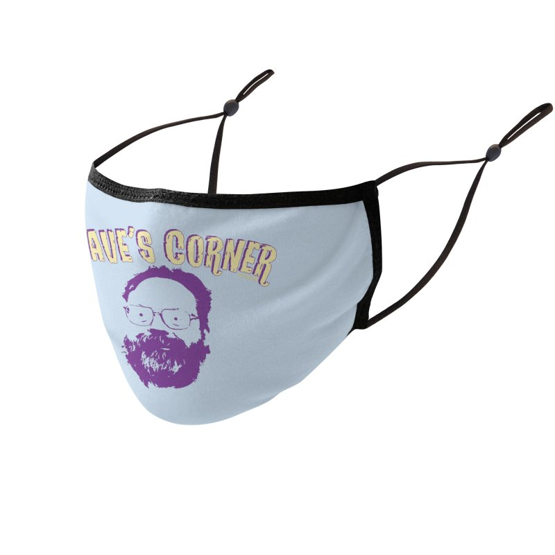 Dave's Corner Accessories Face Mask by pgttcm's Artist Shop