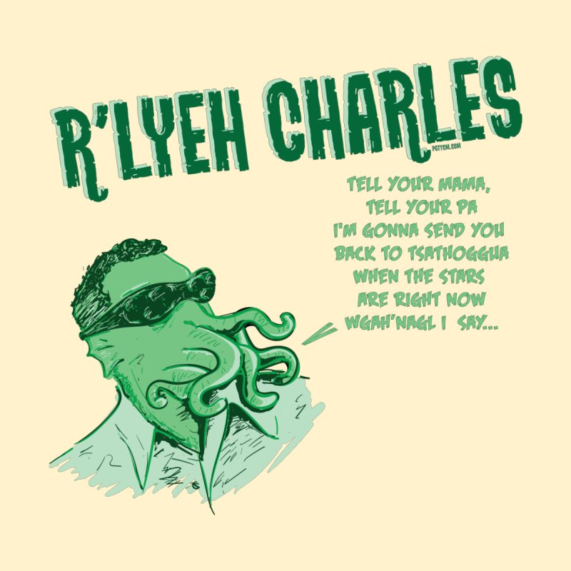 R'lyeh Charles Accessories Face Mask by pgttcm's Artist Shop